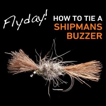 Shipmans buzzer fly pattern